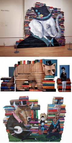 Que faire de vos vieux livres ?