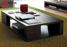 Mesa de Centro Minimalista Mod. CARACAS. Medidas: Cubierta 1.40m x 70cm, Alto 45cm DISPONIBLE PARA TODOS LOS COLORES. Precio: $2,990