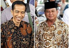 9-Jul-2014 9:37 - JOKOWI OP KOP IN EERSTE UITSLAGEN PRESIDENTSVERKIEZINGEN INDONESIË. Joko 'Jokowi' Widodo lijkt af te stevenen op een overwinning in de Indonesische presidentsverkiezingen. Dat meldt Reuters vanochtend nadat meer dan 60 procent van alle stemmen zijn geteld.