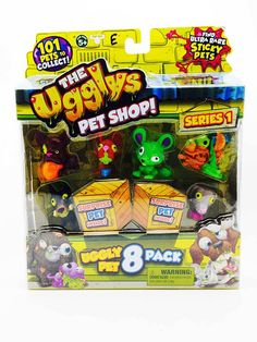 CoolZips Toys - The Ugglys - Series 1 - 8 Pack - E, $19.99 (http://www.coolzips.com/the-ugglys-series-1-8-pack-e/)
