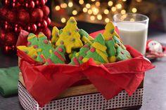 Increíbles galletas en forma de arbolito para Navidad