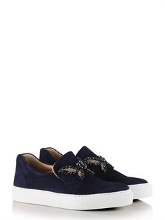check out 9d27b 122d0 Slip in sneaker butterfly, navy - Jackie