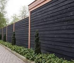 Zwarte Planken Zweeds Rabat