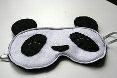 DIY - Panda Slaapmasker