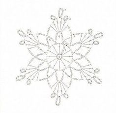 Best 12 What are the crochet snowflake pattern? crochet snowflake pattern schematic pattern to crochet a snowflake.