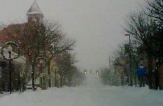 Downtown Alpena Michigan