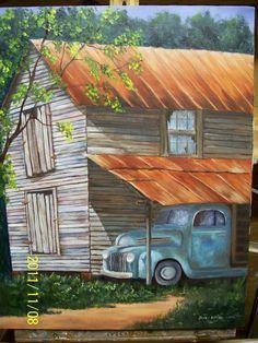 oil on canvas. A Dorothy Dent design.