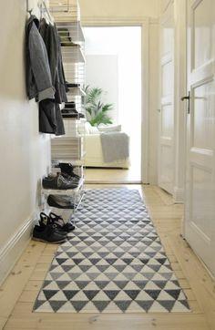 Flur Skandinavisch Teppich Geometrisches Muster