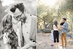 So sweet- mom & dad and the kids | Photographer: @Jen Huang