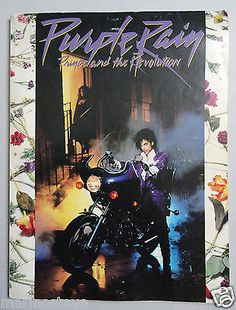 PURPLE RAIN by PRINCE Sheet Music Piano Vocal Guitar Songbook 1984 - http://musical-instruments.goshoppins.com/sheet-music-song-books/purple-rain-by-prince-sheet-music-piano-vocal-guitar-songbook-1984/