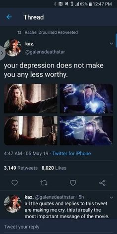 Yet people are saying the Russos ruined Thor - Marvel Universe Marvel Universe - Anime Characters Epic fails and comic Marvel Univerce Characters image ideas tips Marvel Funny, Marvel Memes, Marvel Dc Comics, Marvel Films, Dc Memes, Movie Memes, Funny Memes, A Silent Voice, Star Lord