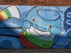 "Street Art. "" TGIF_Keep dreaming and always be happy!! "" o(^o^)o - 송민호 (Song Min-ho) - Google+"