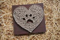 cool Paw Print in Heart Handmade String Art Unique gift Home Decor Wall Hanging Heart sign LOve Dog Cat gift by http://www.best99-home-decor-pics.club/homemade-home-decor/paw-print-in-heart-handmade-string-art-unique-gift-home-decor-wall-hanging-heart-sign-love-dog-cat-gift/