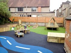 Corpus Christie Catholic Primary School #playground www.schoolscapes.co.uk