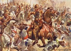 The Mahdist forces to the north had regrouped too late and entered the clash only after the force in the central valley had been routed. They pressed Macdonald's Sudanese brigades hard, but the Lincolnshire Regiment was quickly brought up and with sustained section volleys repulsed the advance. A final desperate cavalry charge of around 500 horsemen was utterly destroyed. The march on Omdurman was resumed at about 11:30.