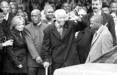 From the man to the statesman, Cape Times chief photographer Michael Walker has captured Nelson Mandela throughout the years. White Cape, Black And White, Nelson Mandela, Times, Black N White, Black White
