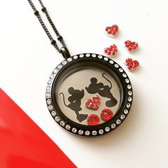 Minnie & Mickey PLATE for Memory Locket / floating locket / personalized plate large memory locket /custom plate/disney necklace