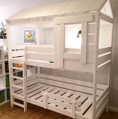 New Baby Room Decoration Ideas Baby Bedroom, Baby Room Decor, Kids Bedroom, Kids Bunk Beds, Baby Room Design, Double Beds, Double Bed For Kids, Little Girl Rooms, Boy Room