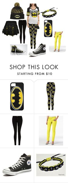 to the batmobile by alexalivar on Polyvore featuring Current/Elliott, INC International Concepts, Converse, women's clothing, women's fashion, women, female, woman, misses and juniors