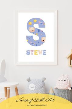 Are you looking for an easy, affordable and convenient way to decorate your child's room then you're in the right place. This personalized space wall art is the perfect piece that will add the finishing touch to your child's room or nursery. Shop it now. Owl Nursery, Nursery Wall Art, Playroom Printables, Outer Space Nursery, Playroom Wall Decor, Baby Wall Art, Custom Wood Signs, Nursery Design, Child's Room