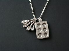 The baker necklace  great gift for cooking hobby chef by untie, $22.00, LOVE!