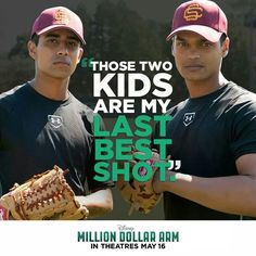 Million Dollar Arm was excellent! And Suraj Sharma looked great in a baseball uni!!!