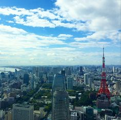 // View from the hotel #AndazTokyo #Tokyo #Japan
