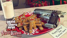 Rockstar Games Social Club - Surprise festive de Noël : chutes de neige, cadeaux de fêtes et le nouveau mode rivalité Jamais deux sans proies disponible maintenant