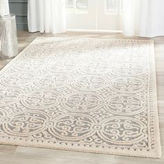 Shop Wayfair for Safavieh Cambridge Silver/Ivory Area Rug - Great Deals on all Decor products with the best selection to choose from!