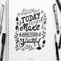 Today i will make something beautiful!!