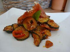 Czary w kuchni- prosto, smacznie, spektakularnie.: Cukinia zapiekana z szynką długodojrzewającą Baked Vegetables, Zucchini, Potatoes, Baking, Food, Potato, Bakken, Essen, Meals