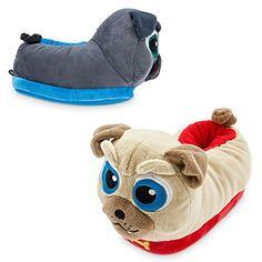 New Disney Store Girls Purple Rolly Bingo Puppy Dog Pals PJ Pal Pajama 3 5