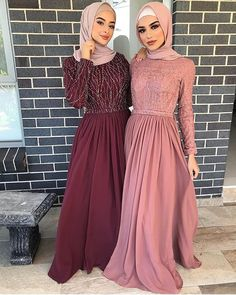 Dress idea Style Hijab Casual Kondangan 40 Ideas Easy Fitness For Time Crunched Moms Article Muslim Prom Dress, Hijab Prom Dress, Hijab Evening Dress, Nikkah Dress, Hijab Wedding Dresses, Prom Dresses, Muslim Evening Dresses, Hijab Gown, Hijab Outfit