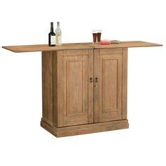 Howard Miller Clare Valley Wine & Bar Console 695-156 - Home Bars USA - 4