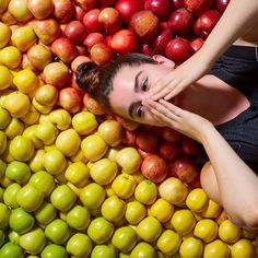 Americana Lucia Litman usa o Instagram para divulgar seu projeto que combina cor e comida