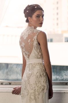 Beautiful illusion back detail. Sarah Janks, 2014