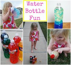 Water Bottle Fun in