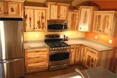 Cretens Furniture, Custom Solid Wood Kitchen Cabinets. With Pull-Out Shelving. Yep :))