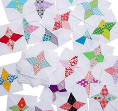 Red Pepper Quilts: Hummingbird Quilt Block Tutorial with a free downloadable paper piecing pattern! This is a simple pattern that I think could be great to someone new to foundation paper piecing! The possibilities are endless with thousands of fabrics to choose from at the Fabric Shack at http://www.fabricshack.com/cgi-bin/Store/store.cgi