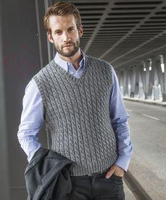 Lana Grossa PULLUNDER MIT ZÖPFEN Cool Wool Alpaca - FILATI CLASSICI No. 6 - Modell 45 | FILATI.cc WebShop
