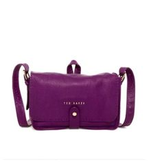 """New Ted Baker Gaiton Croc Embossed Crossbody Brand new with tag. 100% Authentic!! Come with original dust bag!    Ⓜ️er Cari for cheaper Details: - Magnetic snap-tab closure - Optional, adjustable crossbody strap - Interior zip, wall and smartphone pockets - Leather - Approx. 7"""" H x 10.5"""" W x 3.25"""" D - Approx. 19-24"""" strap drop - Imported Materials: Leather exterior, textile lining Additional Info: 10 ½""""W x 7""""H x 3 ¼""""D. (Interior capacity: small.)19"""" - 24"""" crossbody strap drop. Ted Baker Bags…"""