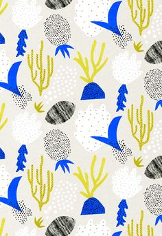sea themed print by Abbey Withington