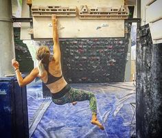 """""""Gains. On a good day I can hold on for 5 seconds and it's quite comfortable. Lock off nowhere to be seen, yet. . . . . . . . . . . . . . . . . . . . . . . . . #training #climbing #bouldering #climbing_pictures_of_instagram #climbing_is_my_passion #muscle #calisthenics #pullups #fingerboard #womenwholift #workworkwork #goals #dreams #motivation #athlete #fitness #blonde #climbinggym #climber #strongwomen #trainingforclimbing #lovethis #lovemylife #livewithpassion #strong #instagood…"""