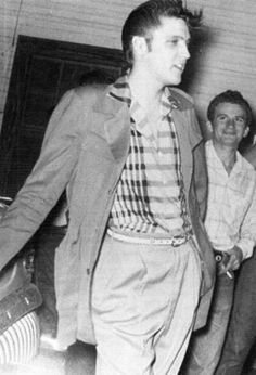 THIS DAY IN ROCK HISTORY: May 15, 1954: A Memphis truck driver named Elvis Presley auditions with the house band at Memphis' Hi Hat Club and is told he'll never make it as a singer.