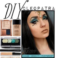 Cleopatra halloween make up   Make Up & Hair   Pinterest ...
