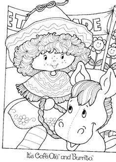 Strawberry Shortcake Coloring Book - Berry Happy Home @ Toy-Addict.com
