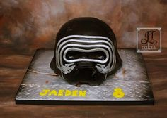 Kylo Ren Mask by JT Cakes