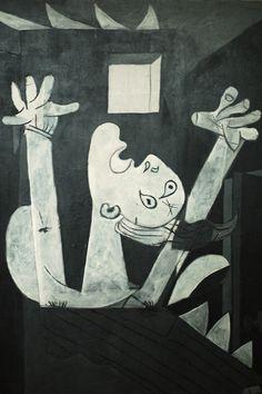 "Pablo Picasso: ""Guernica"", 1937 (detalle)"
