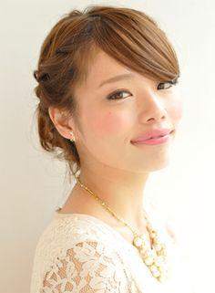 いろんなシーンに使えるHappyアレンジ 【tricca】 http://beautynavi.woman.excite.co.jp/salon/7166 ≪arrange・hairstyle・アレンジ・ヘアスタイル・髪型・髪型≫