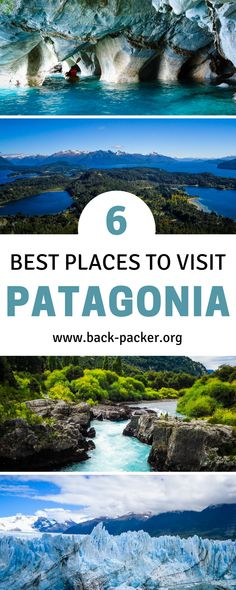 Six of the best places to visit in Patagonia. Located throughout Argentina and Chile, this Patagonia guide makes for the perfect Argentina and Chile itinerary, including stops in Bariloche, El Chaltén, Perito Moreno and more. Best hikes and treks, national national parks and other sights in the region. Adventure travel in South America. | Back-packer.org #Patagonia #SouthAmerica